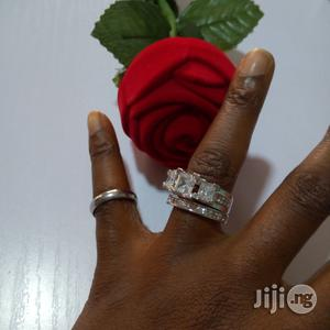 Solstice Sterling Silver Wedding and Engagement Ring | Wedding Wear & Accessories for sale in Lagos State, Ojodu