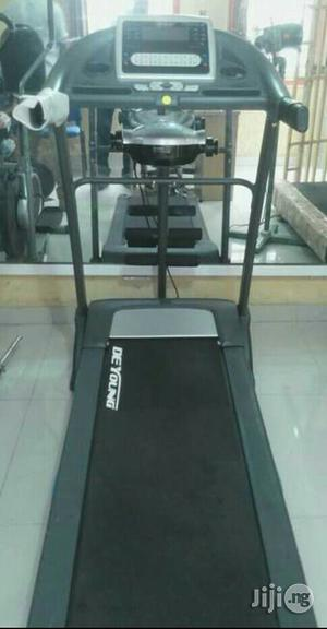 De Young 2.5hp Treadmill With Massager and Dumbbell | Massagers for sale in Lagos State, Ikeja