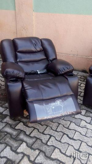 Italian Recline Sofa Chair by 7 Seaters   Furniture for sale in Lagos State, Ojo