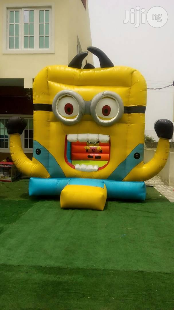 Archive: Minions Bouncing Castle With Blower For Sale In Nigeria (Wholesale And Retail)
