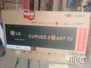 LG 60inch Curved Smart LED TV | TV & DVD Equipment for sale in Lagos State, Ojo