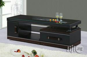 Wooden Tv Stand With Glass Top | Furniture for sale in Abuja (FCT) State, Wuse