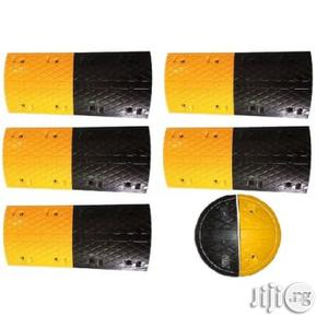 5m Rubber Traffic Speed Breaker Bump Hump With End Caps | Automotive Services for sale in Lagos State