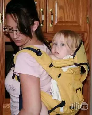 Tokunbo Used Denim Baby Carrier (Orange Colour) | Children's Gear & Safety for sale in Lagos State, Ikeja