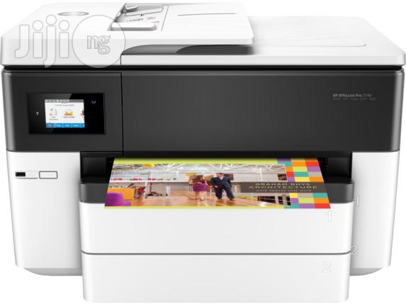 HP Officejet Pro 7740 Wide Format All-in-one Printer(A3/A4)   Printers & Scanners for sale in Ikeja, Lagos State, Nigeria