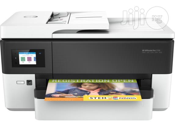 HP Officejet Pro 7720 A3 Wireless All-in-one Printer | Printers & Scanners for sale in Ikeja, Lagos State, Nigeria