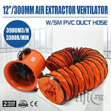 """12"""" Diameter Duct Fan With 5 Meters Long Flexible Hose (ENG) 