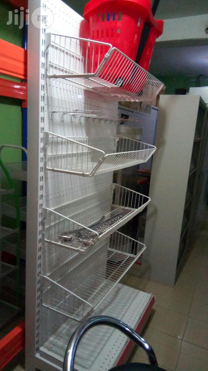 Supermarket Shelves.