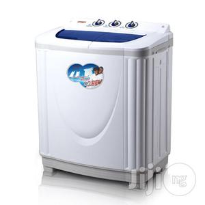Qasa Twin Tub Washing Machine 8.2kg Washing And 6kg Spinner | Home Appliances for sale in Lagos State, Ojo
