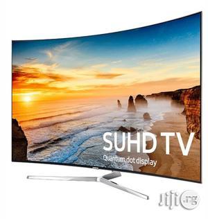 "Samsung 78"" Curved Super UHD 4K Quantum Dot TV   TV & DVD Equipment for sale in Lagos State, Ojo"