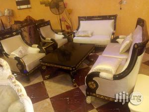 Italian Sofa Chair by 7 Seaters With Center Table | Furniture for sale in Lagos State, Ojo
