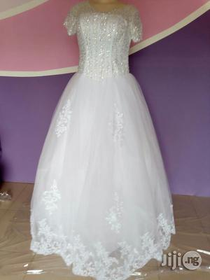 Brand New White Wedding Gown | Wedding Wear & Accessories for sale in Lagos State, Alimosho
