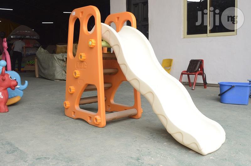 Kids Playground Slide With Stairs