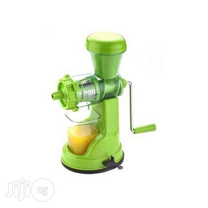 Universal Manual Juicer Machine/Extractor