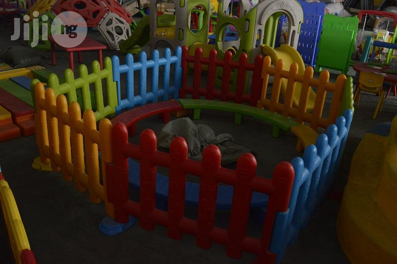 Coloured Kids Plastic Playground Fence For Sale