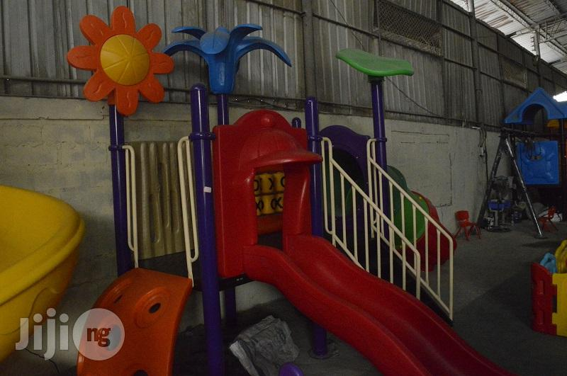 Multipurpose Playground Slide With Rail Handle For Sale