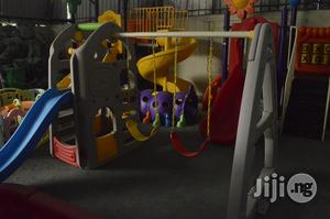 Outdoor Playground Equipment With Double Swing & Slide | Toys for sale in Lagos State, Ikeja