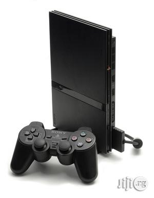 Sony Playstation 2 Console With One Pad And With Games   Video Game Consoles for sale in Lagos State, Ojo