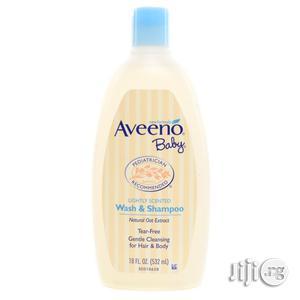 Aveeno Baby Wash Shampoo, 532ml   Baby & Child Care for sale in Abuja (FCT) State, Gwarinpa