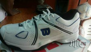 Original Wilson Lawn Tennis Canvas   Shoes for sale in Lagos State, Ikeja