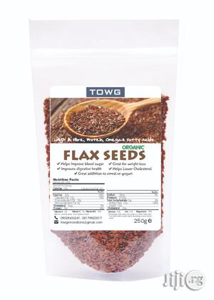 Organic Flax Seed 250g   Vitamins & Supplements for sale in Lagos State, Magodo
