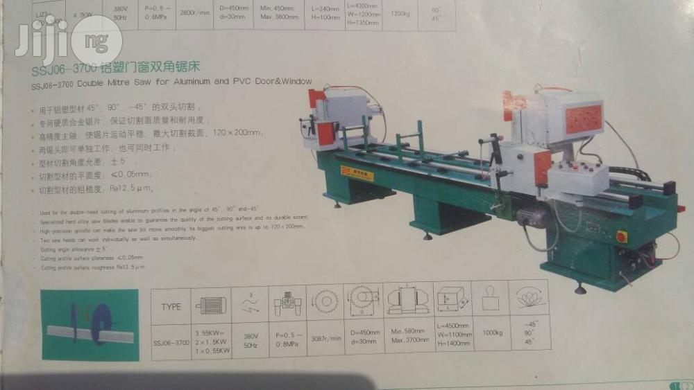PVC Window & Aluminium Door Machine (3-in-1)   Manufacturing Equipment for sale in Delta State, Nigeria