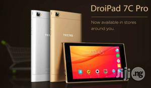 New Tecno DroiPad 7F 16 GB Gray | Tablets for sale in Lagos State, Ikeja