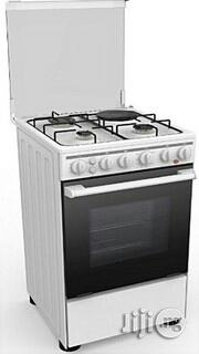 Midea 4 Gas Cooker, 50 by 55cm-20bmg4g007-S White | Kitchen Appliances for sale in Lagos State, Agege
