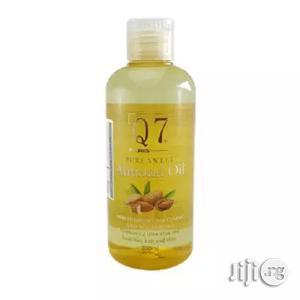 Q7 Paris Pure Sweet Almond Oil, 200ml | Skin Care for sale in Abuja (FCT) State, Gwarinpa