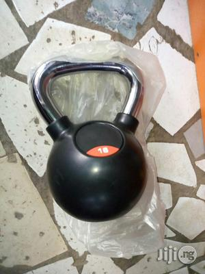 16kg Kettlebell With Steel Handle | Sports Equipment for sale in Lagos State, Surulere