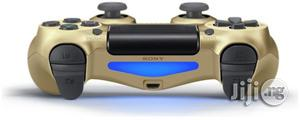 Dualshock Wireless PAD Controller For PS4-Gold   Accessories & Supplies for Electronics for sale in Lagos State, Ikeja