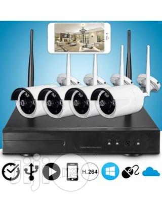 Archive: Wifi 4 Channel CCTV Camera Kit 1080p NVR (Day Night Vision)