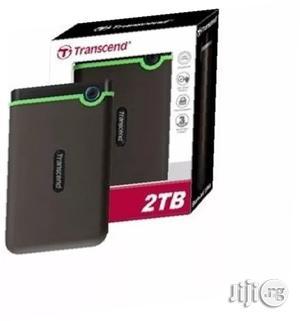 Transcend - 2TB Portable External Hard Drive   Computer Hardware for sale in Lagos State, Ikeja