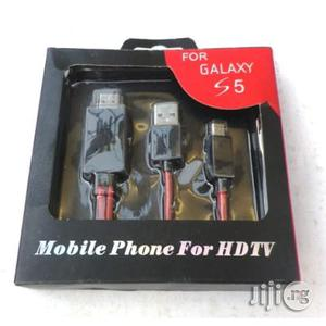 HDMI TV Cable For Mobile Phones   Accessories & Supplies for Electronics for sale in Lagos State, Ikeja