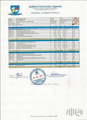 Public Health Officer | Healthcare & Nursing CVs for sale in Kano State, Nasarawa-Kano