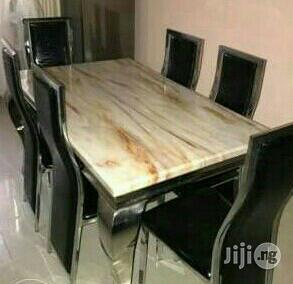 Marble Dining Table   Furniture for sale in Lagos State, Maryland