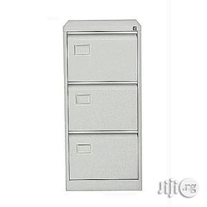Heavy Duty 3-drawer Metal Filing Cabinet | Furniture for sale in Lagos State, Yaba