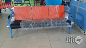 Imported Sofa Chair by 5 Seaters Orange and Black   Furniture for sale in Lagos State, Ojo
