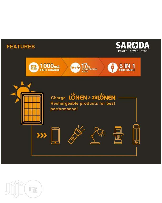 6V 6W Multi Plugs Solar Panel for Mobile Phones   Solar Energy for sale in Ikeja, Lagos State, Nigeria