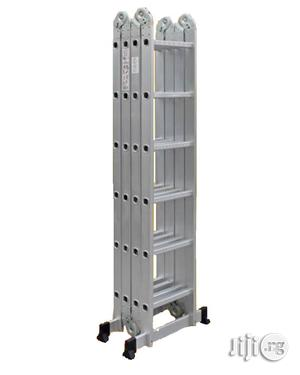 4x6 Foldable Multipurpose Aluminium Ladder | Hand Tools for sale in Lagos State, Ikeja