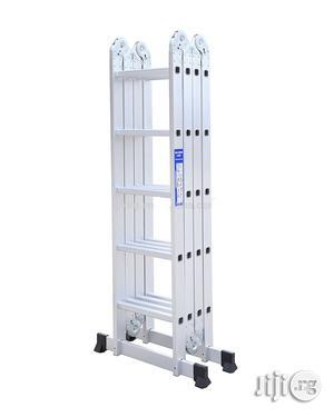 4x5 Foldable Multipurpose Aluminium Ladder | Hand Tools for sale in Lagos State, Ikeja