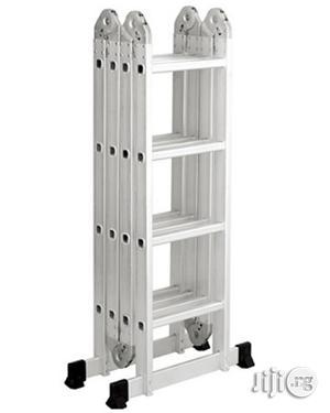 4x4 Foldable Multipurpose Aluminium Ladder | Hand Tools for sale in Lagos State, Ikeja