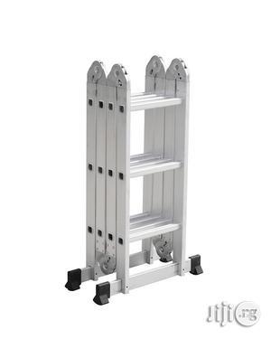 4x3 Foldable Multipurpose Aluminium Ladder | Hand Tools for sale in Lagos State, Ikeja