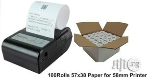 58mm Paper + Mobile Bluetooth NEPA Bill Receipt Printer For Android | Printers & Scanners for sale in Lagos State, Ikeja