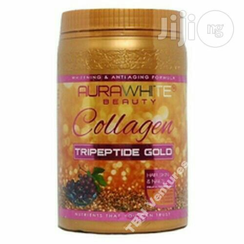 Aurawhite Beauty Collagen Tripeptide Gold -1000g | Vitamins & Supplements for sale in Ojo, Lagos State, Nigeria