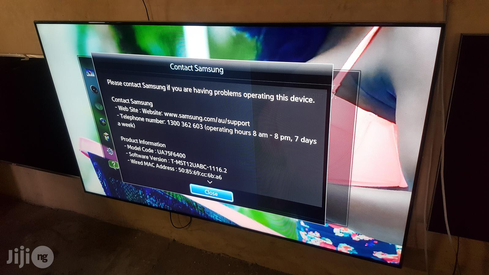 Archive: 75 Inches Samsung Smart Full Hd 3D Led Tv