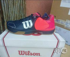 Original Wilson Tennis Squash Canvas   Shoes for sale in Lagos State, Ikeja