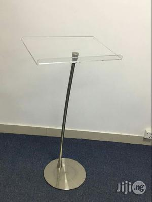 Tiny Stand Clear Acrylic Church Pulpit   Furniture for sale in Lagos State, Magodo