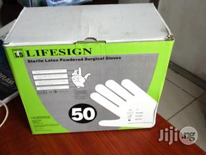 Lifesign Sterile Surgical Latex Gloves | Medical Supplies & Equipment for sale in Lagos State, Ikeja