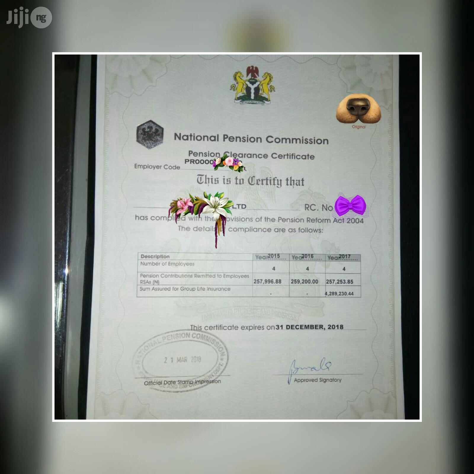 Archive: Get Pencom, ITF, BPP, NSITF And Other Bidding Documents
